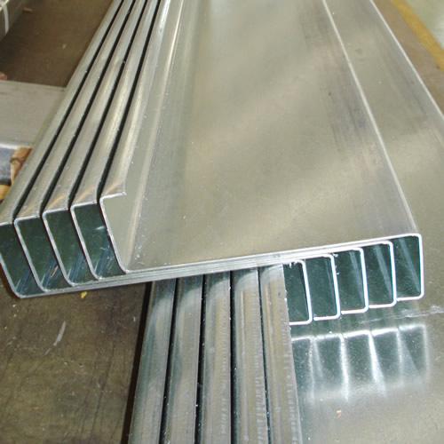 Zed metal purlins